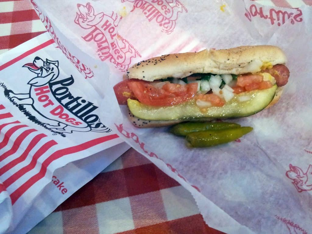 Co warto zjeść w Chicago - Portillo's.