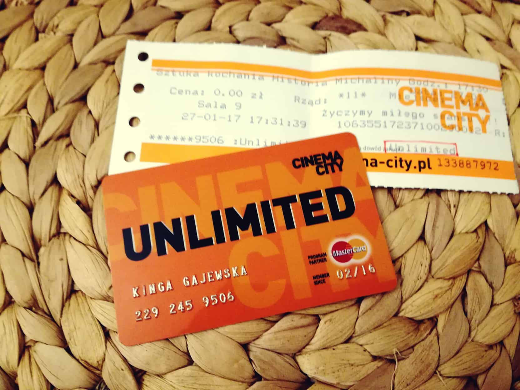 Czy warto zostać kinomaniakiem z kartą Cinema City Unlimited?