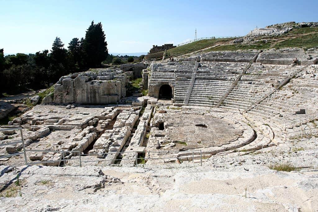 Syrakuzy - Teatr Grecki.