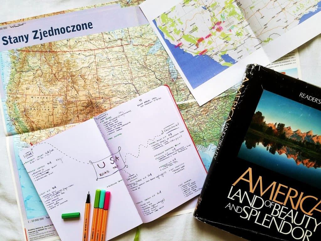 Jak zaplanować USA Road Trip