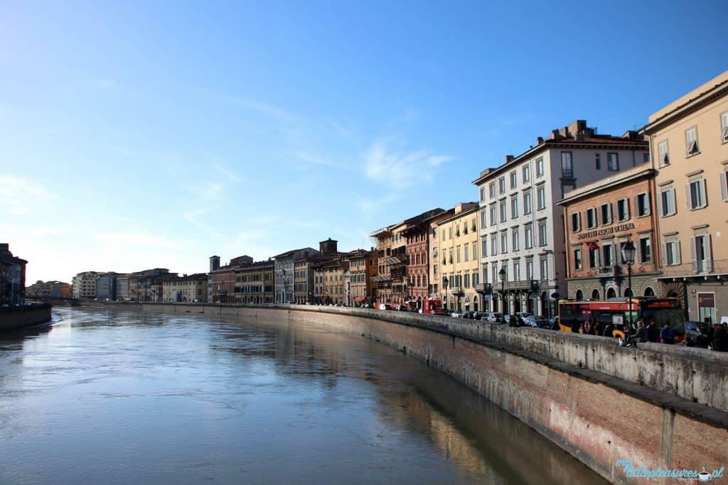 Piza rzeka Arno