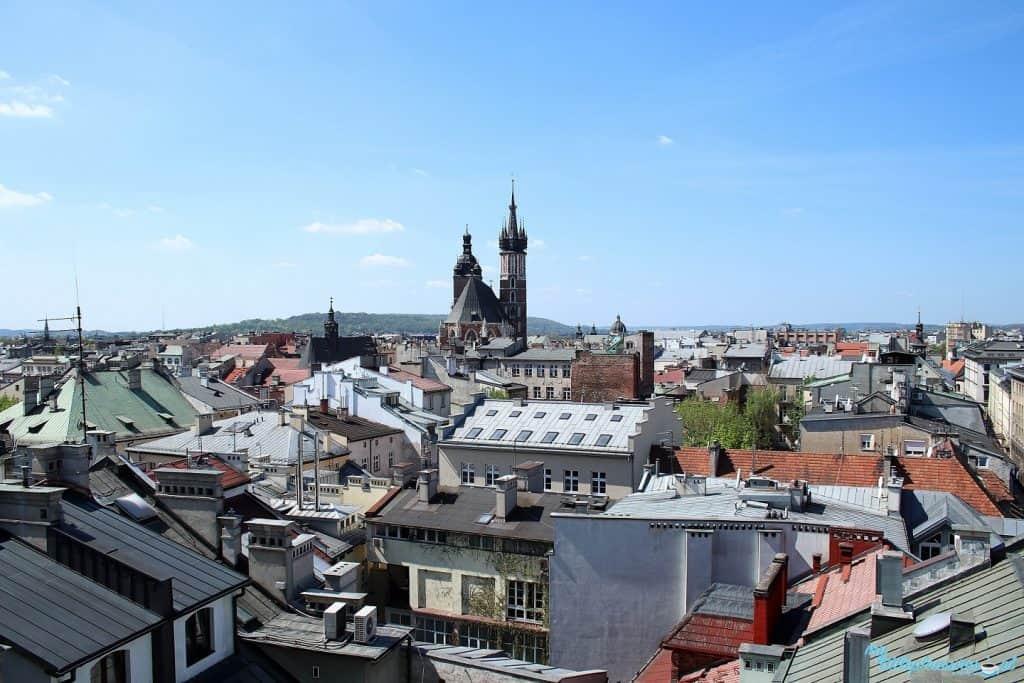 Krakowskie tarasy widokowe - Bistro Metrum.
