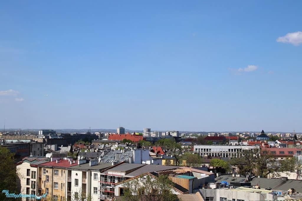 Krakowskie tarasy widokowe - Cafe Oranżeria.
