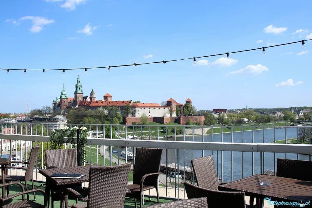 Krakowskie tarasy widokowe - Restauracja Vidok.