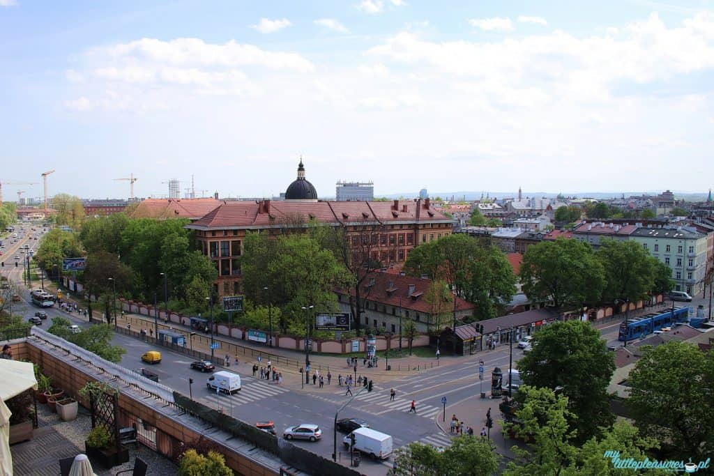 Krakowskie tarasy widokowe - Zielone Tarasy.