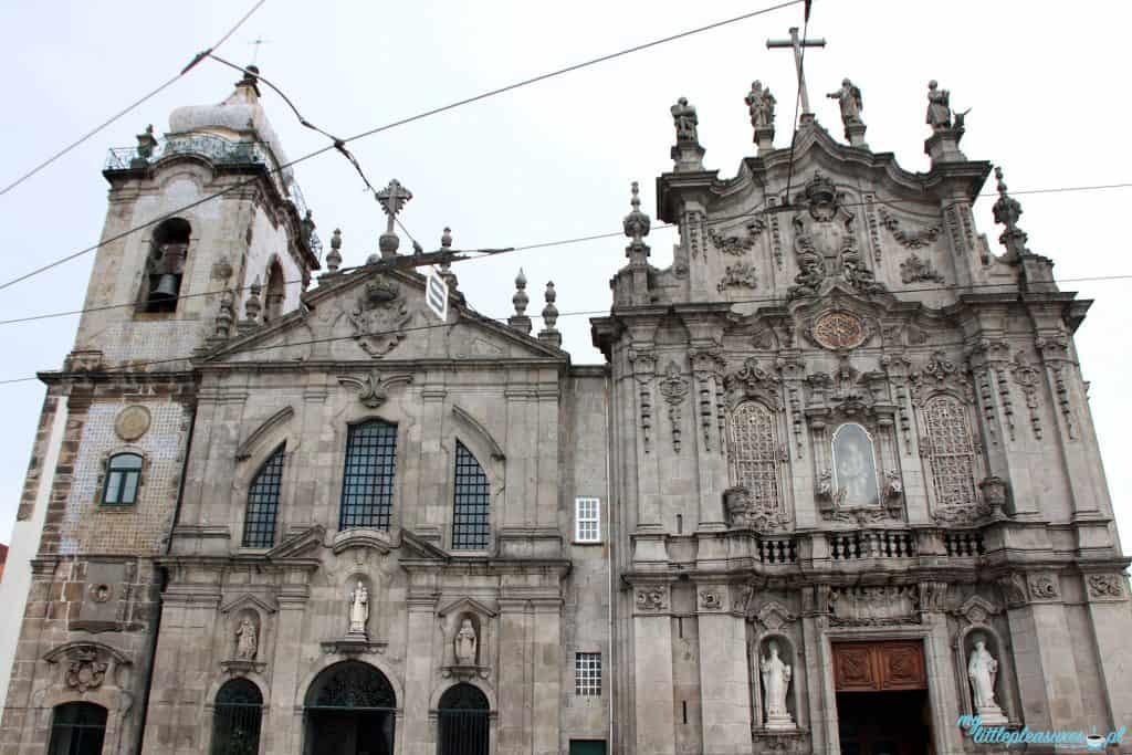 Igreja das Carmelitas, czyli co warto zobaczyć w Porto.