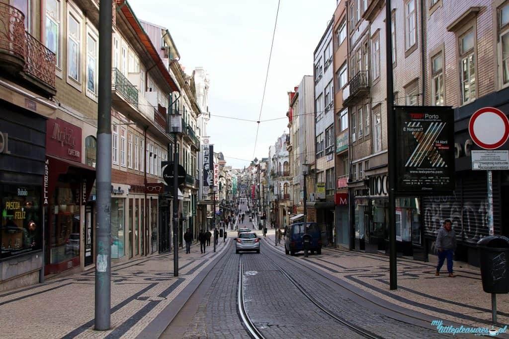 Rua Santa Caterina, czyli co warto zobaczyć w Porto.