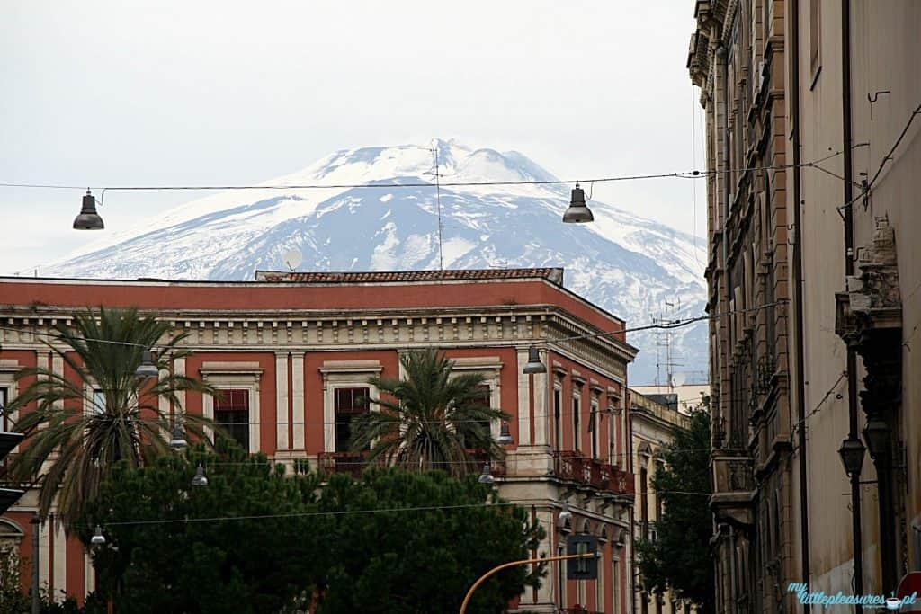 Śnieg na Etnie, czyli czym zaskoczyła mnie Sycylia.