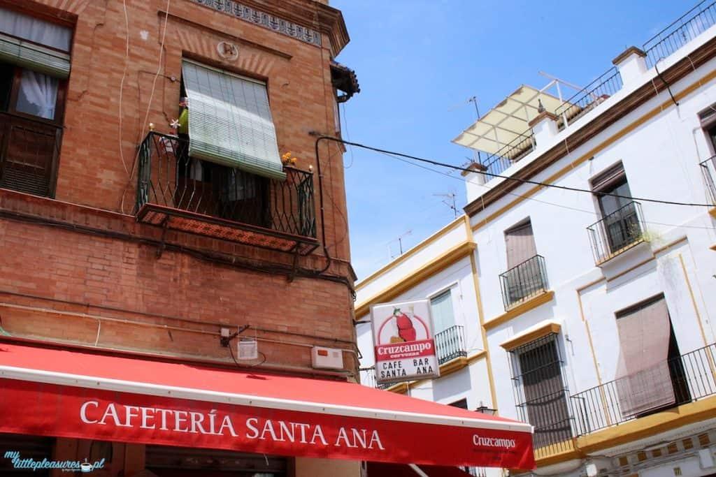 Bar Santa Ana, czyli gdzie zjeść w Sewilli.