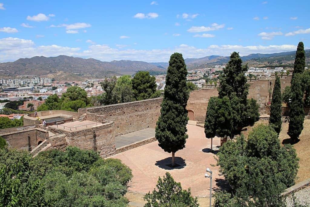 Przewodnik po Maladze - Castillo de Gibralfaro.