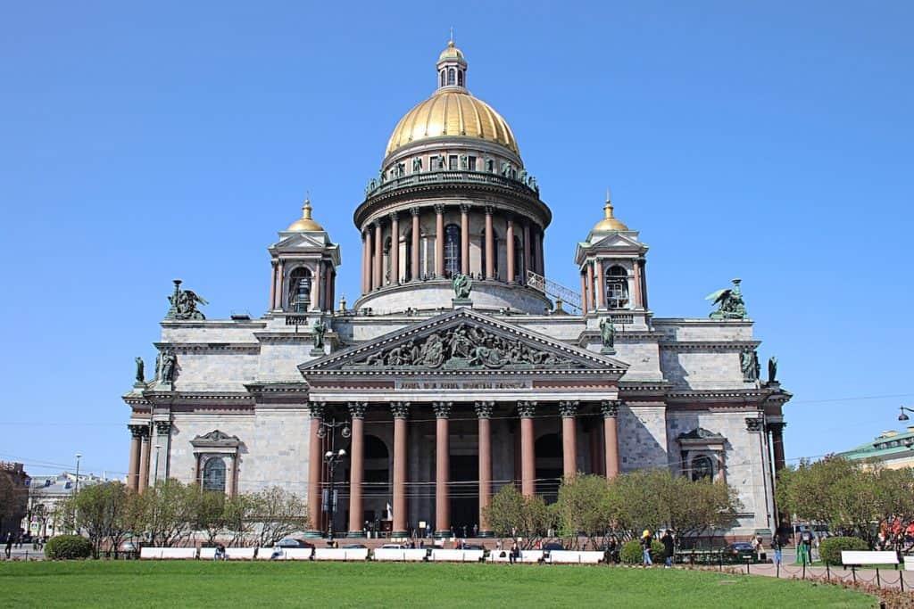Przewodnik po Petersburgu - Sobór św. Izaaka.