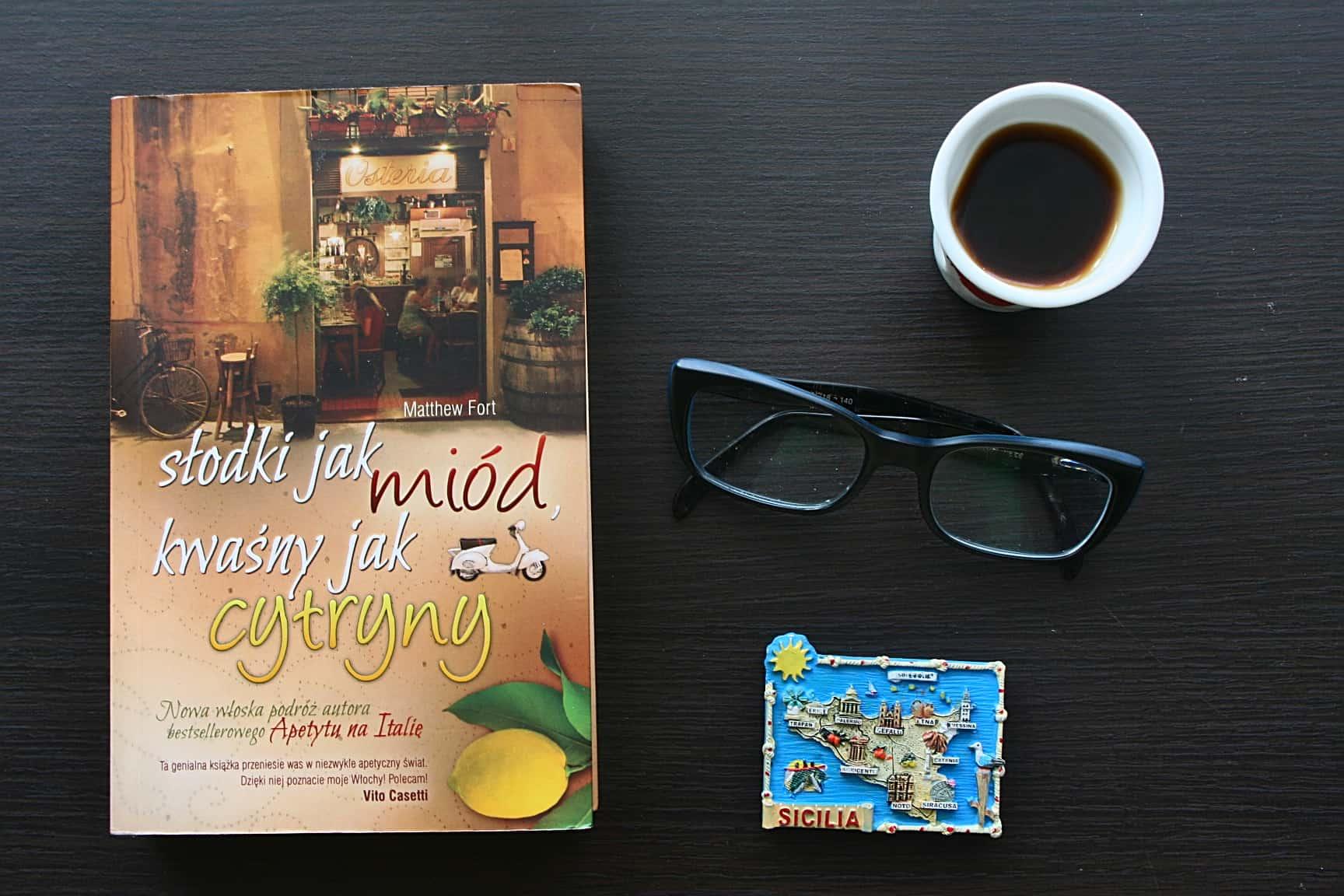 """#9 Książka do kawy – """"Słodki jak miód, kwaśny jak cytryny"""""""