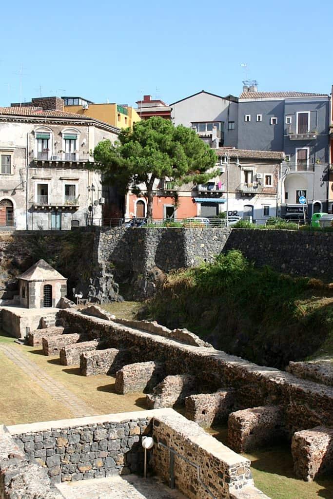 Katania - co zobaczyć - Castello Ursino.