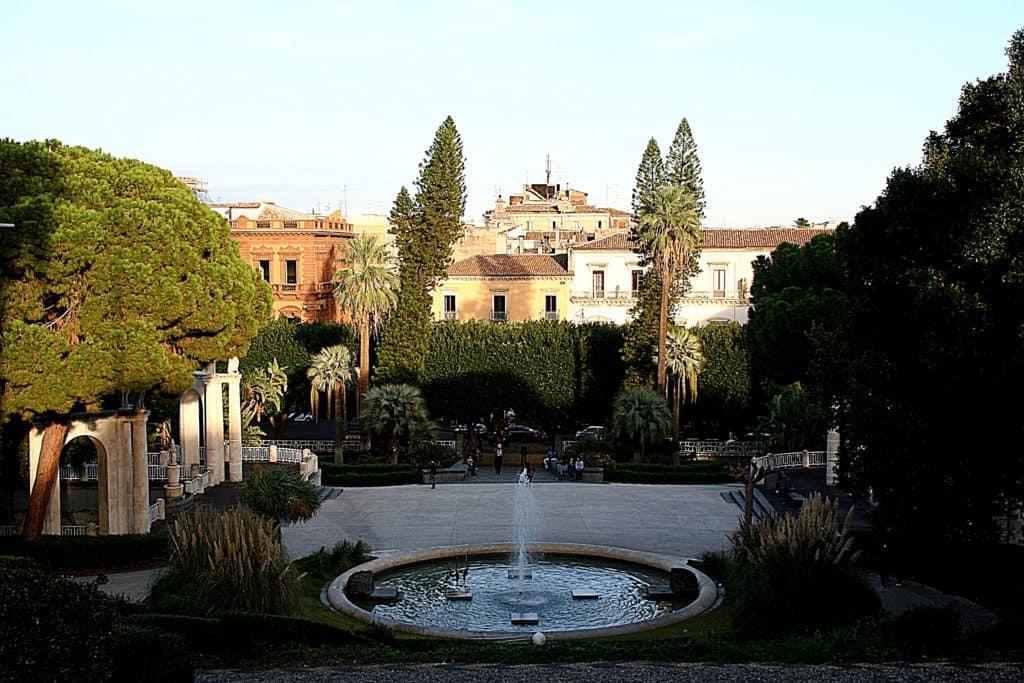 Przewodnik po Katanii - Villa Bellini.