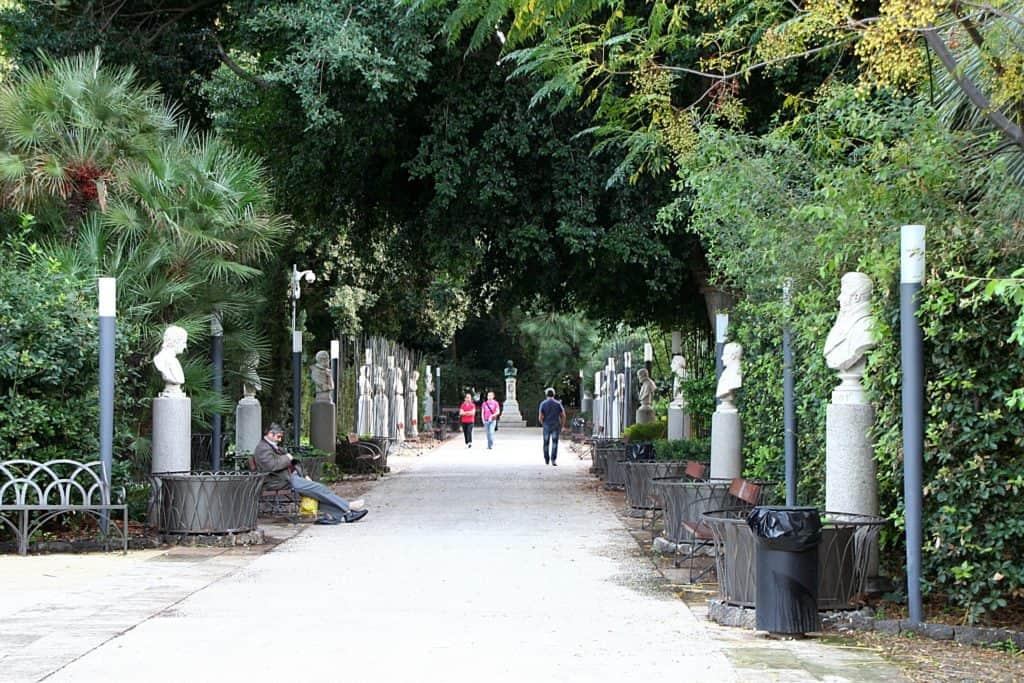 Co zobaczyć w Katanii - Villa Bellini.