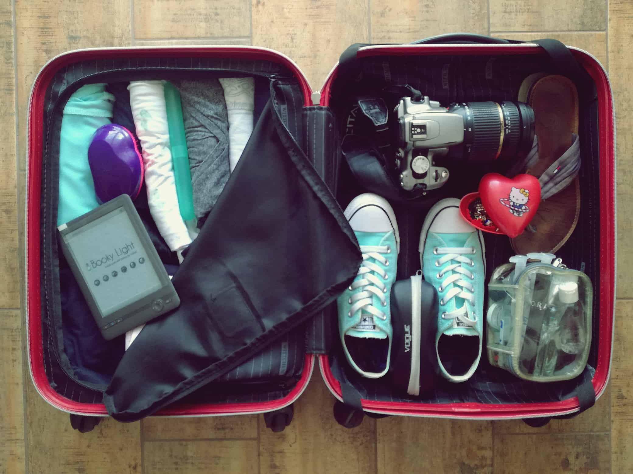 Jak spakować walizkę na tygodniowe wakacje?