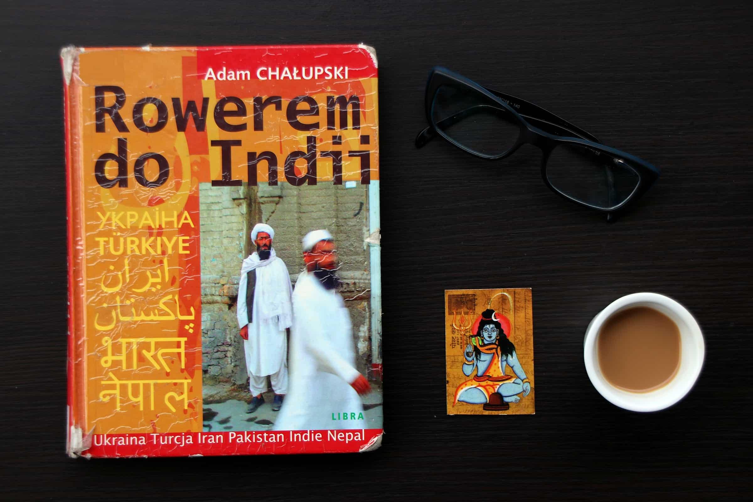 """#27 Książka do kawy – """"Rowerem do Indii"""""""