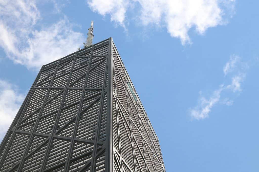 Co warto zobaczyć w Chicago - John Hancock Center.