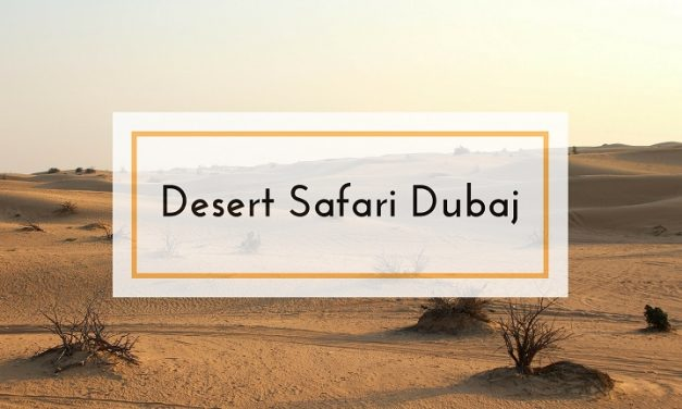 Desert Safari, czyli jedziemy na pustynię