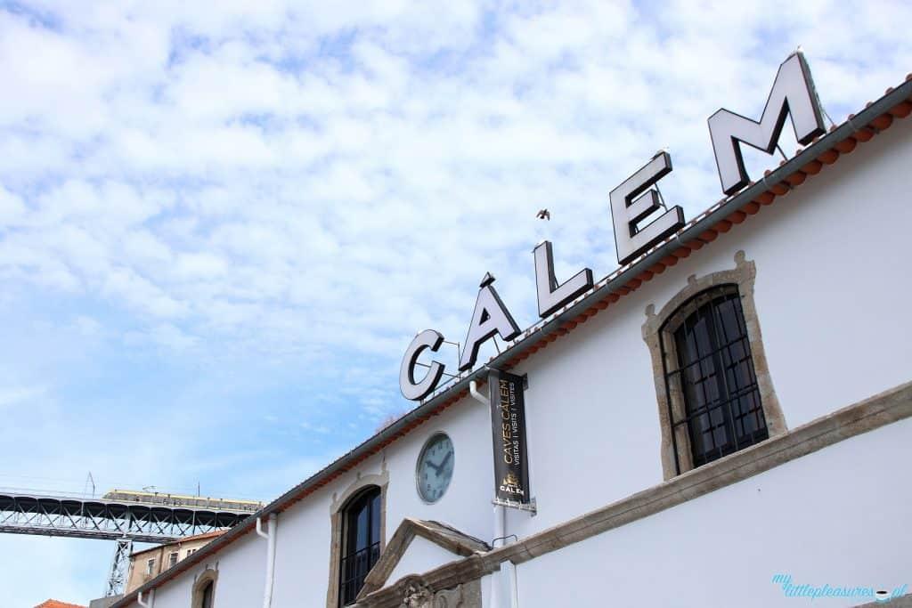 Calem czyli degustacja wina porto w Porto
