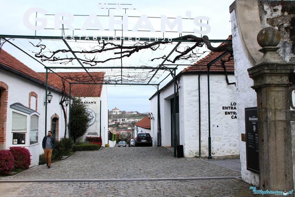 Porto w Porto w bodedze Graham's