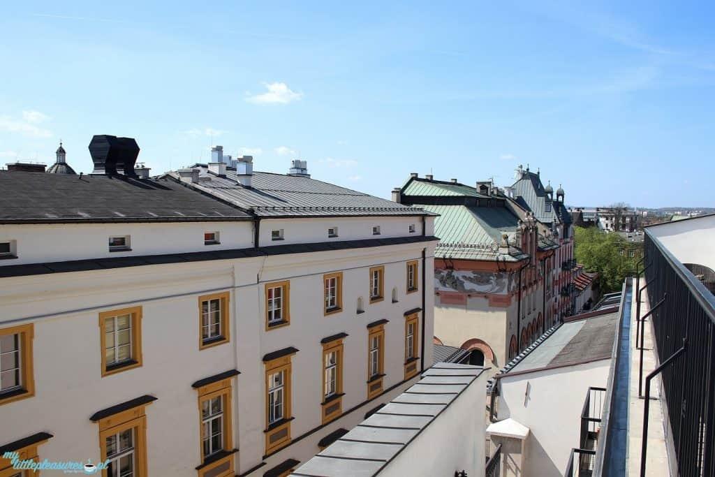Krakowskie tarasy widokowe - Sky Bar w Hotelu Starym.
