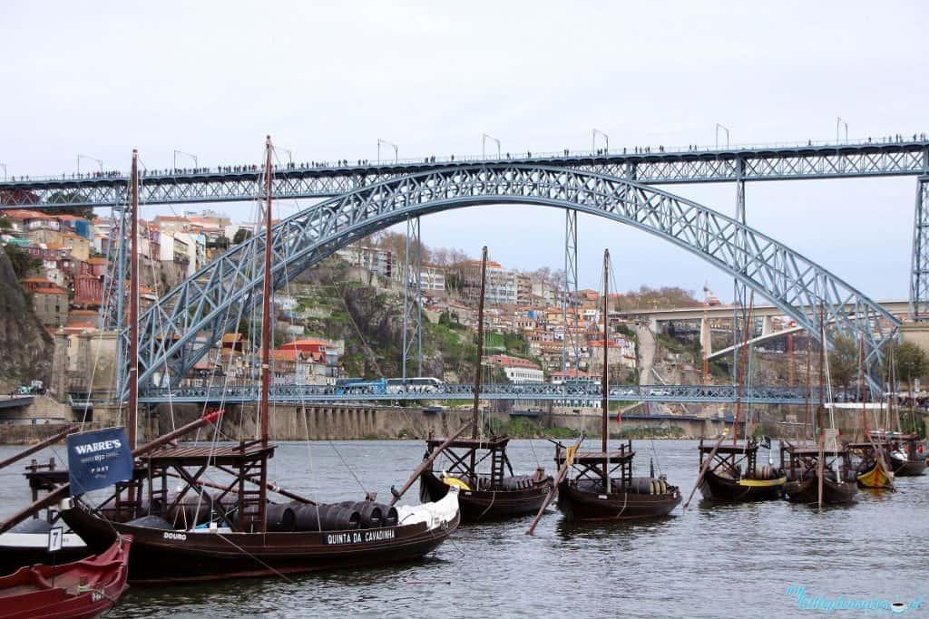 Most Dom Luis, czyli co warto zobaczyć w Porto.