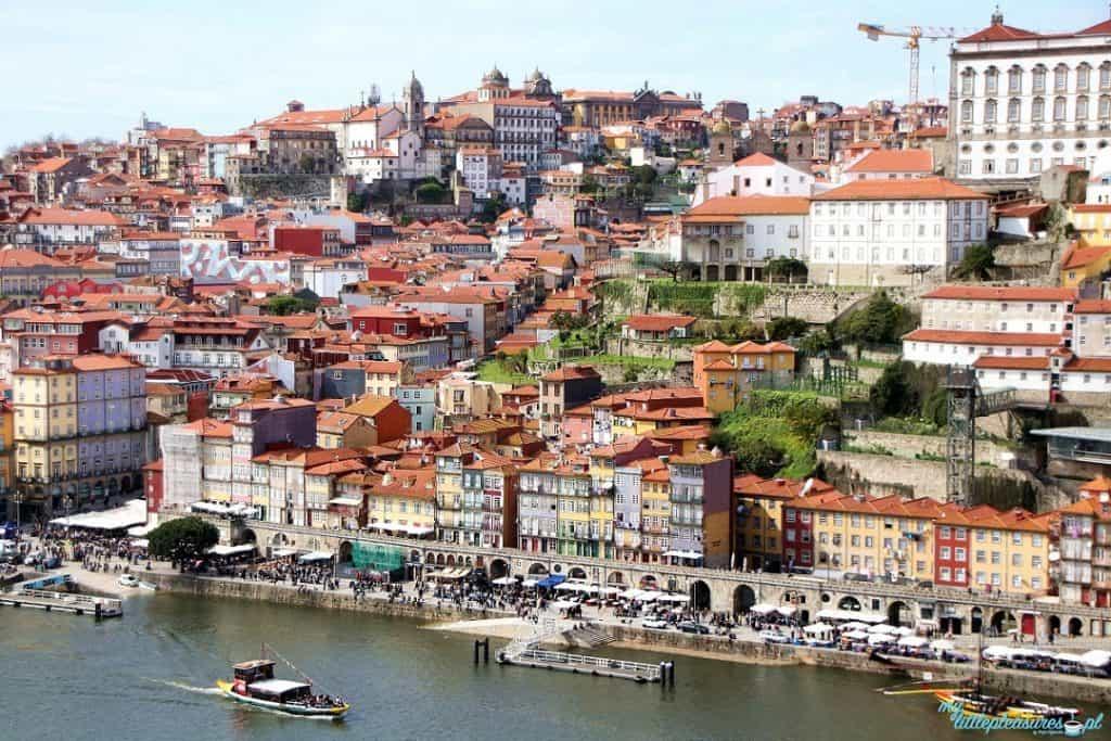 Ribeira w Porto, czyli co warto zobaczyć w Porto.