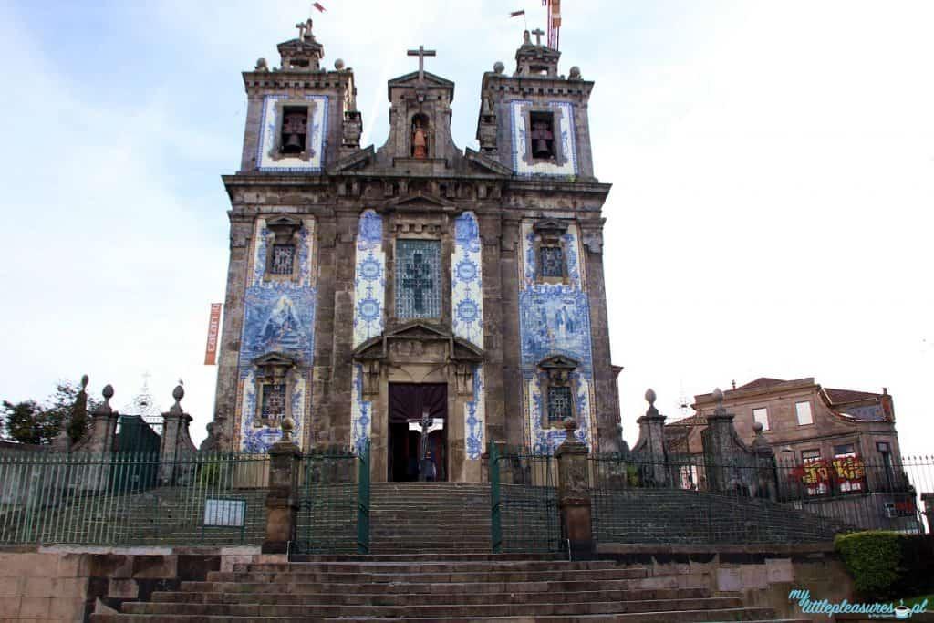 Igreja de Santo Ildefonso, czyli co warto zobaczyć w Porto.