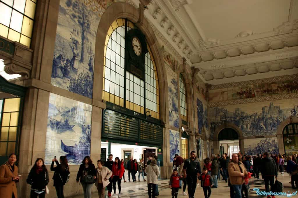 Dworzec Sao Bento, czyli co warto zobaczyć w Porto.