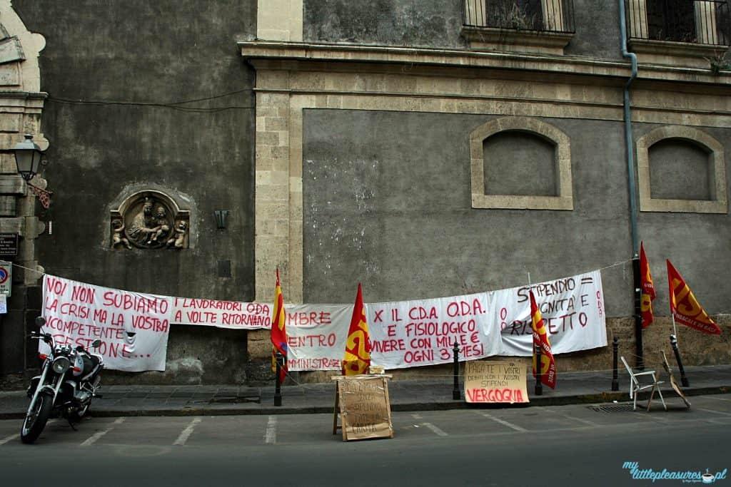 Strajk sycylijski, czyli czym zaskoczyła mnie Sycylia.