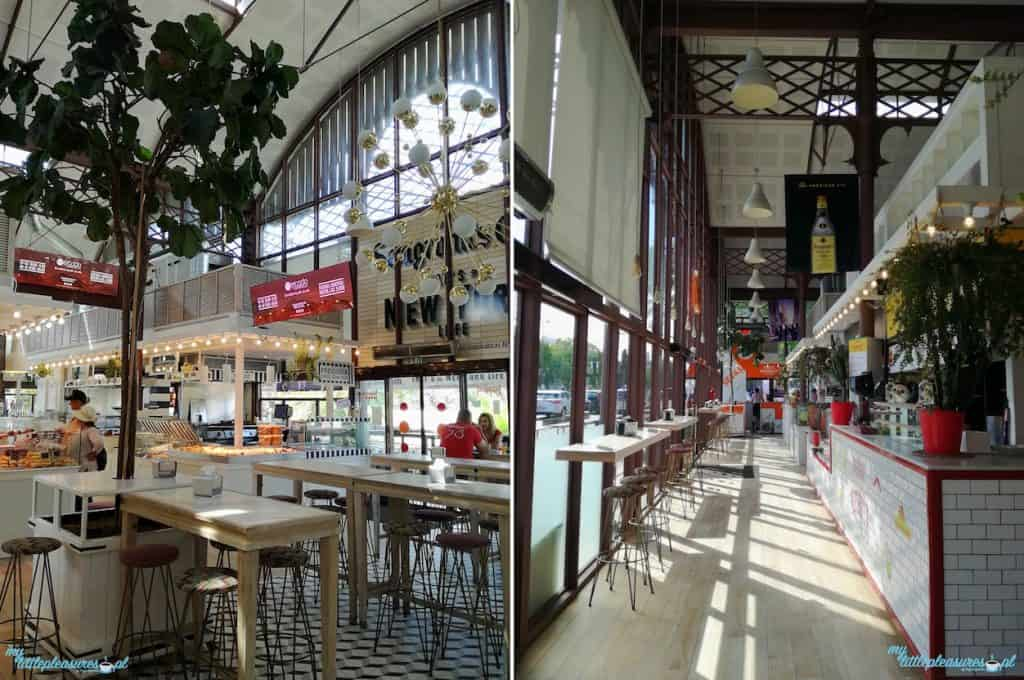 Mercado Lonja del Barranco, czyli gdzie zjeść w Sewilli.