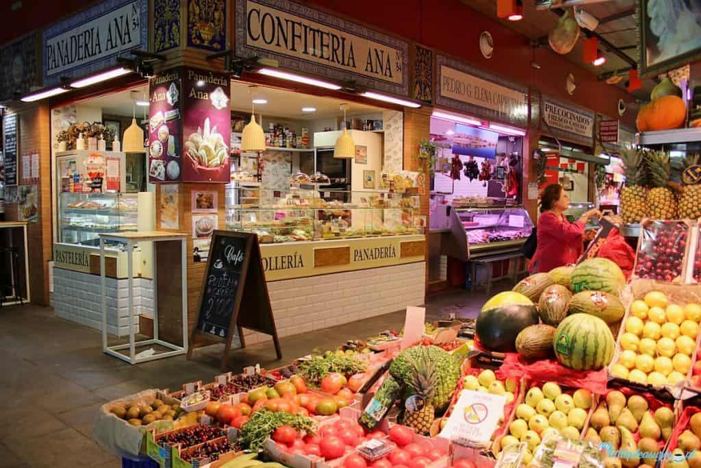 Mercado de Triana, czyli gdzie zjeść w Sewilli.