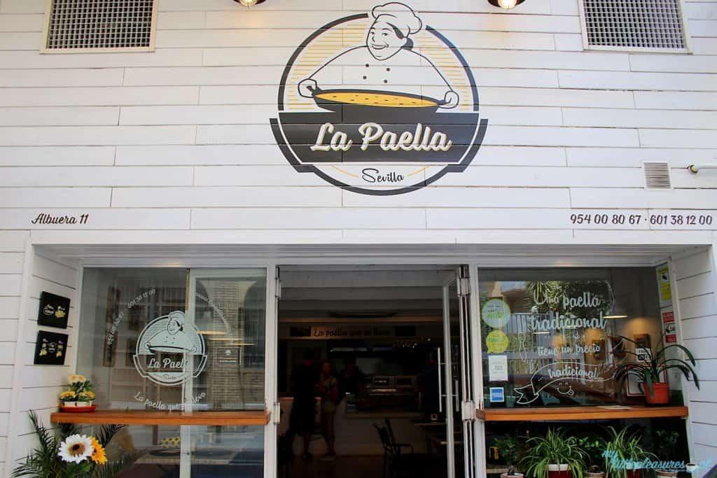 La Paella, czyli gdzie zjeść w Sewilli.