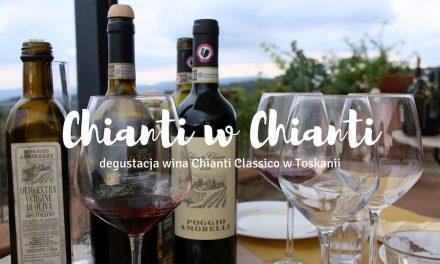 Chianti Classico w toskańskiej winnicy, czyli degustacja wina w Toskanii