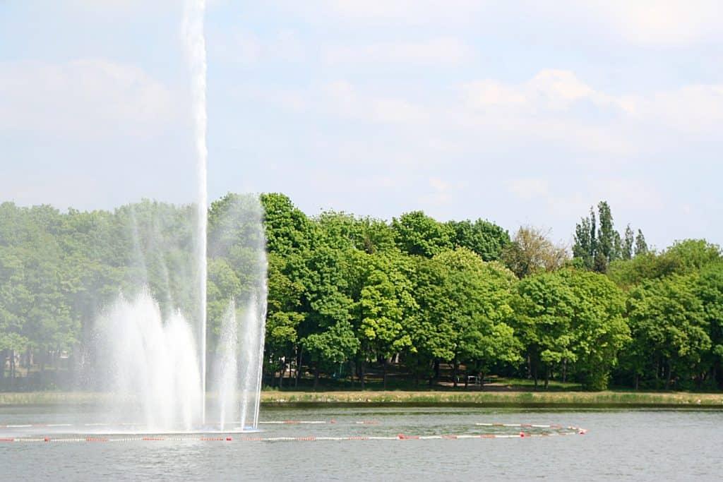 Weekend w Poznaniu - Jezioro Maltańskie.