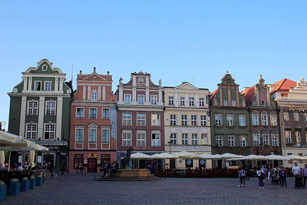 Weekend w Poznaniu - Stary Rynek.