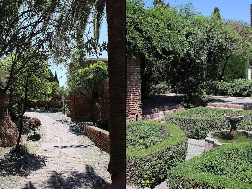 Alcazaba w Maladze.