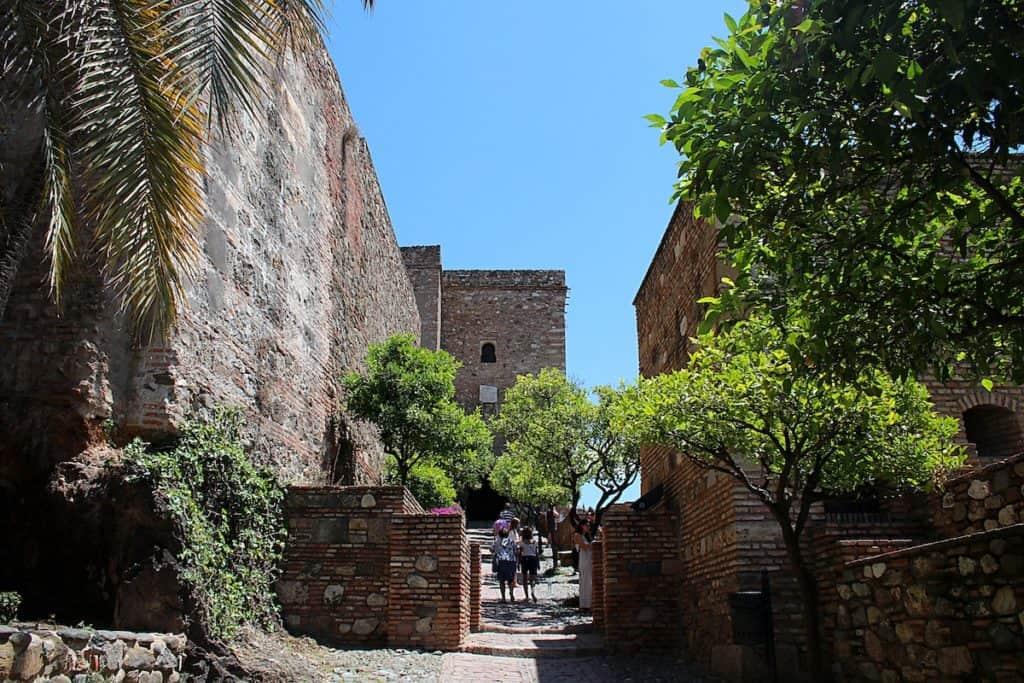 Przewodnik po Maladze - Alcazaba.