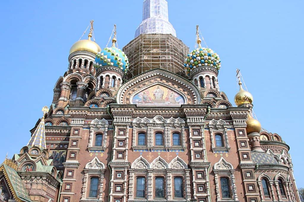 Przewodnik po Petersburgu - Cerkiew Spas-Na-Krowi.
