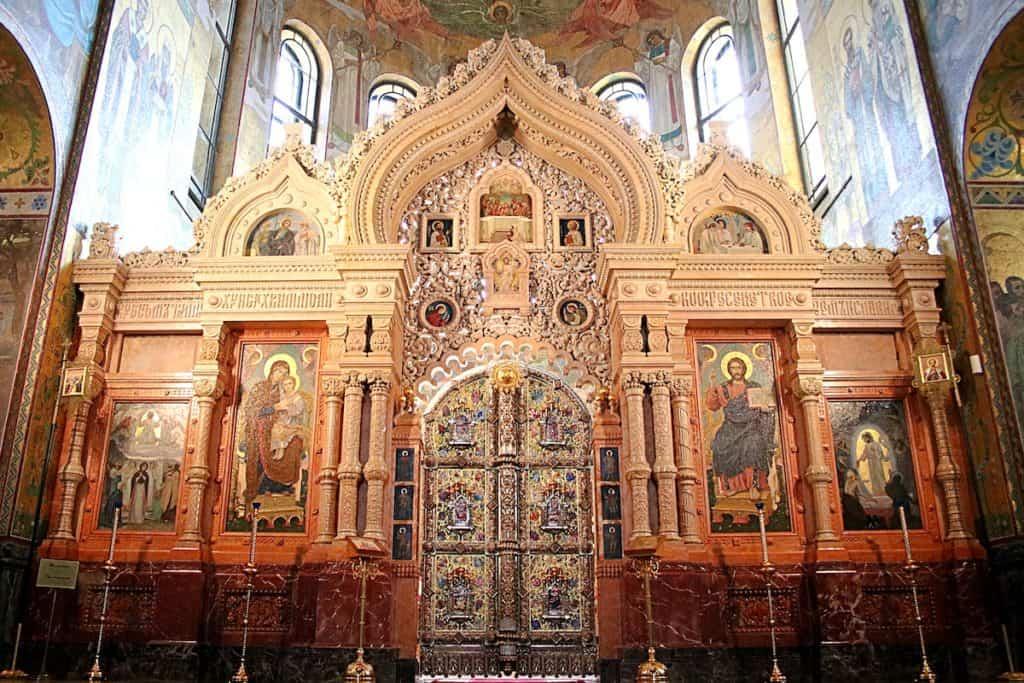 Przewodnik po Peterxsburgu - Cerkiew Spas-Na-Krowi.