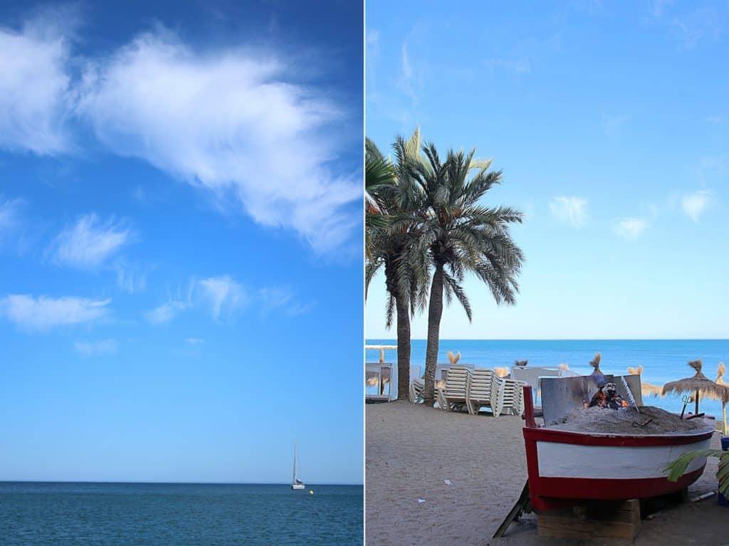 Plaża Malagueta.