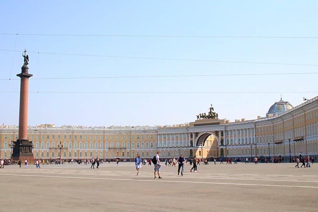 Przewodnik po Petersburgu - Plac Pałacowy.
