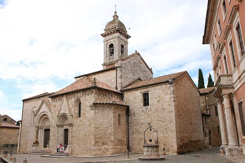 Dolina Val d'Orcia - San Quirico d'Orcia.