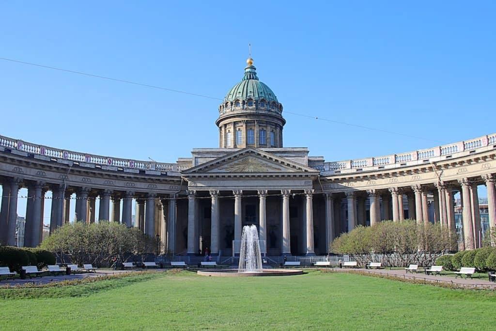 Przewodnik po Petersburgu - Sobór Kazański.