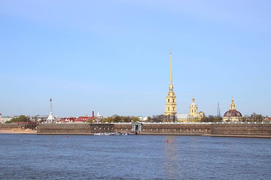 Przewodnik po Petersburgu - Twierdza Pietropawłowska.