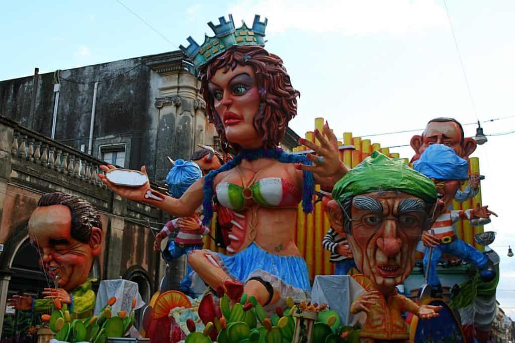Karnawał w Acireale.