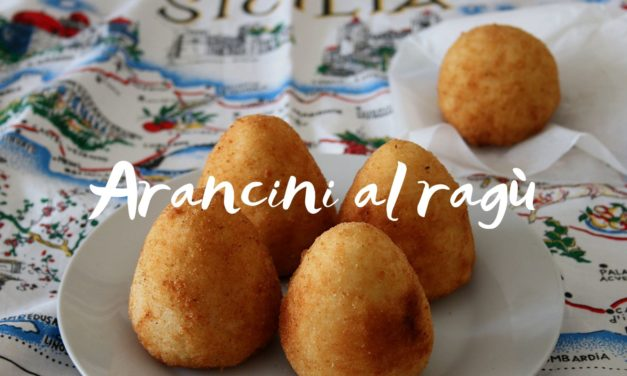 Sycylijskie ARANCINI – sprawdzony przepis na arancini al ragù