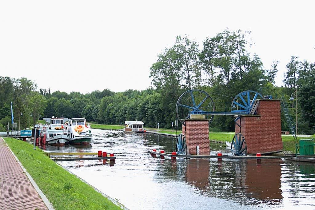 Rejs po Kanale Elbląskim.