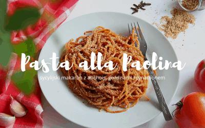 Pasta alla Paolina, czyli sycylijski makaron z goździkami i cynamonem